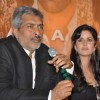 "Katrina Kaif and director Prakash Jha at a press meet for film ""Rajneeti"" in JW Marriott, Mumbai"