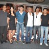 "Katrina Kaif, Ranbir Kapoor, director Prakash Jha, Arjun Rampal and Manoj Bajpayee, at a press meet for film ""Rajneeti"" in JW Marriott, Mumbai"
