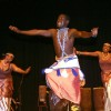 "Performance by ""Urukerereza"" a traditional dance from Rawanda national ballet during the Africa Festival in New Delhi on Tuesday"