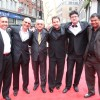 Sanjeev Lamba, Stuart Ford, Amit Khanna, Brett Ratner and Prasoon Joshi at London Premiere of Kites