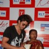 Hrithik Roshan at BIG FM Studios to greet the winners of Love Unlimited contest at Big FM