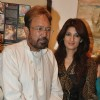 Twinkle and Rajesh khanna inaugurate Prithvi Soni exhibition at Jehangir Art Galery, Mumbai