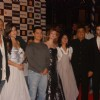 Prakash Jha, Katrina Kaif, Aamir with wife Kiran Rao and Ranbir Kapoor at ''Raajneeti'' premiere at IMAX