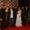 Prakash Jha, Arjun Rampal, Katrina Kaif and Manoj Bajpai at ''Raajneeti'' premiere at IMAX