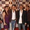 Madhur Bhandarkar and Prakash Jha at ''Raajneeti'' premiere at IMAX