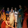 Models with designers Rahul,Gunjan and Payal Gupta at the unveiling of bridal collections
