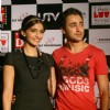 Bollywood actors Imran Khan and Sonam Kapoor promoting their film