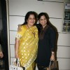 Singer Anuradha Paudwal with a friend at the launch of Fan Club at Bhaidas Hall