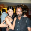 Bollywood actress Aruna Shields with Prashant at the premiere of MrSingh MrsMehta at PVR Juhu