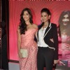 Sonam and Rhea at Aisha music launch at Tote in Mumbai