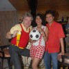 Shifa Shekhar soccer bash at Kafed
