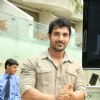 John Abraham at Blush clinic event