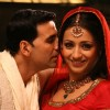 Akshay Kumar with Trisha