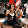 Akshay Kumar with Trisha in a song