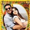Khatta Meetha(2010) movie poster with Akshay and Trisha
