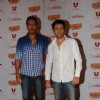 Ajay Devgan and Imran Hashmi at Once upon a time in Mumbai promotional event at Cinemax