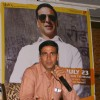 Bollywood actor Akshay Kumar at a press meet to promote his film