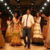 Designer Manish Malhotra''s with models at the Delhi Counter Week 2010, in New Delhi on Tuesday