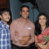 Akshay Kumar with Suhaana and Ishaan