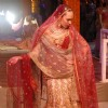 A Model at the designer Tarun Tahiliani''s Bridal Exposition in New Delhi on Saturday 24 July 2010