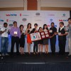 Kishan Kumar, Isha Koppikar, Gul Panag, Divya Dutta, Celina Jaitley and Javed Jaffrey at Hello Darling film music launch