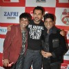 Vijay Ishwarlal Pawar (VIP), Raju Srivastav and John at Big FM''s Green Humour mimicry launch