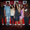 Sonam Kapoor with Aisha team with RJ Anurag Pandey of Fever FM at Andheri