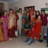 "TV show ""Mata Ki Chowki"" on location at Future Studios"
