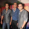Ajay Devgan and Emraan Hashmi at ''''Once upon a time in Mumbai'''' success bash hosted by Ekta Kapoor