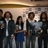 Sonu Nigam,Raj Zutshi at Gumshuda Film Music Launch at Renaissance Club
