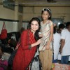 Akriti Kakar Celebrates birthday with Aids Patients at Sion Hospital
