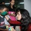 Singer Akriti Celebrates birthday with Aids Patients at Sion Hospital