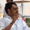 Ajay devgan in the movie Aakrosh