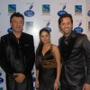 Anu Malik, Sunidhi Chauhan and Salim Marchant at Indian Idol 5 grand finale at Filmistan