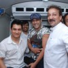 Aamir and Salman Khan at Blood Donation Drive at Bandra