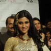 Konkona Sen on the ramp at Amaraapali show at the India International Jewellery Week on Day 4