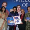 Lalitya Munshaw and Anup Jalota''s album Message of Love album launch at Cinemax