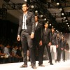 Models showcasing designer Troy Costa''s creations at the Ven Heusen India Mens Week, in New Delhi