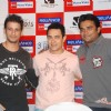 Aamir, Sharman and R. Madhavan at 3 Idiots DVD launch at Grand Hyatt