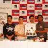 Aamir, Sharman, Rajkumar Hirani and R. Madhavan at 3 Idiots DVD launch at Grand Hyatt