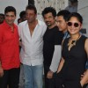 Double Dhamaal film launch at Mehboob