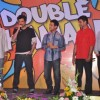 Anil Kapoor and Aamir Khan at Double Dhamaal film launch at Mehboob
