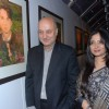 Anupam Kher at Anupam Kher's Art Exhibition at Bandra