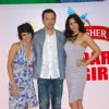 Mandira Bedi with hot models at Kingfisher Calendar auditions at Lalit Hotel