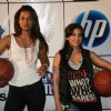 Soha Ali Khan and Mugdha Godse at NBA promotional event at Phoenix Mill
