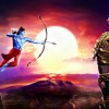 Still scene from the movie Ramayana - The Epic