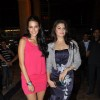 Neha Dhupia and Jacqueline Fernandez at Smirnoff Nightlife event at Phoenix Mill