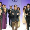 Troy costa showcases at lakme fashion week
