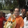 Rajeev Kapoor at RK's Ganesha visarjan at  RK Studio, Chembur in  Mumbai on Wednesday Evening