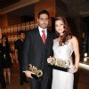 Aishwarya Rai and Abhishek Bachchan at GQ Man of the year at Grand Hyatt